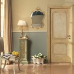 Interior doors styles: matching of dominant designing style of a door leaf through examples