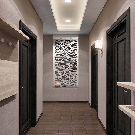 Black interior doors – a combination of doors in dark colors with room interior design