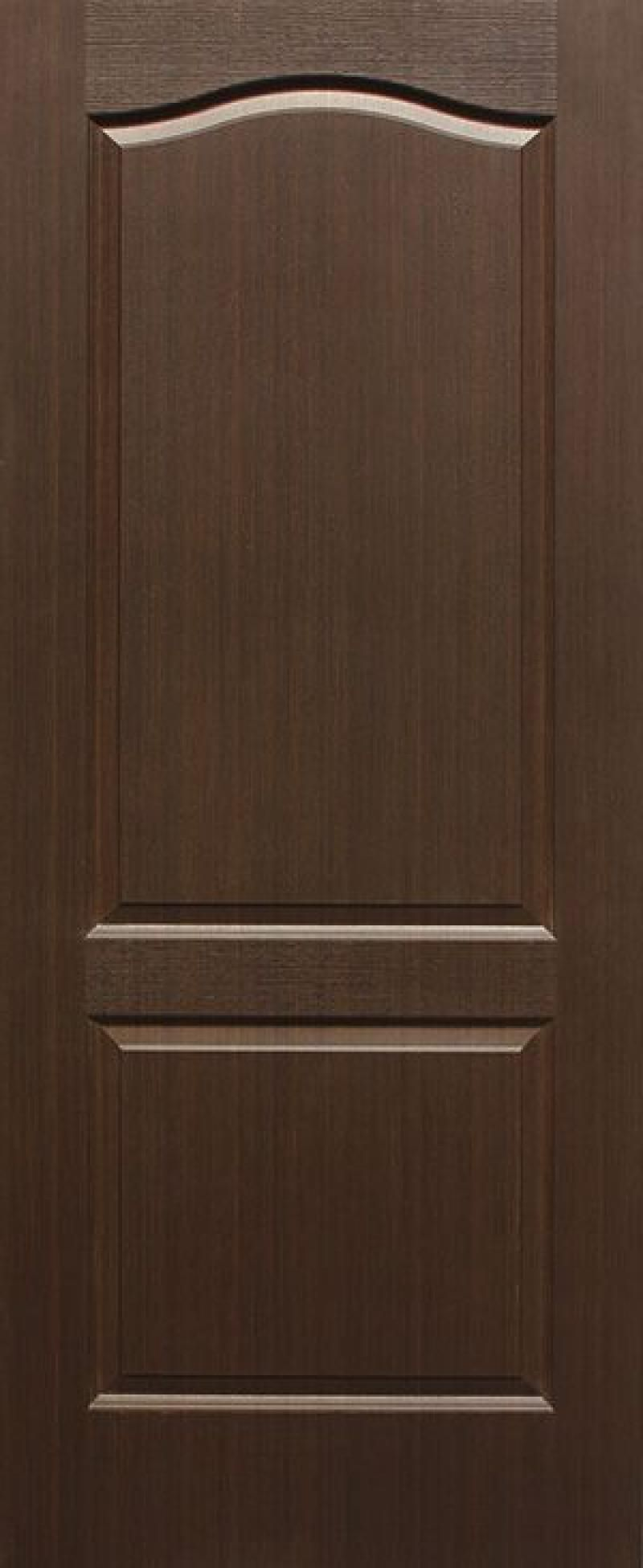 Brown masonite door in the living room