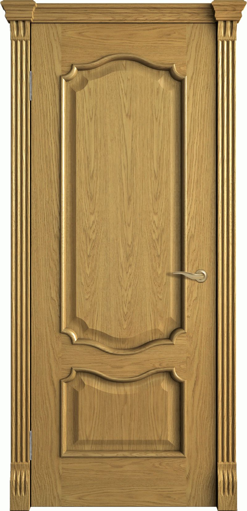 Doors made of natural wood