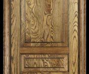 Eco-friendly wooden door