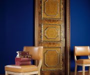 Expensive door with gold made in the Baroque style