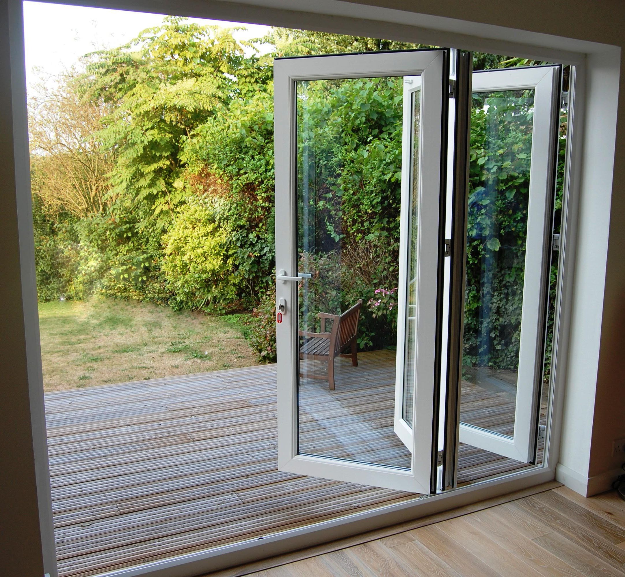 Interior sliding glass doors for Outside door with window that opens