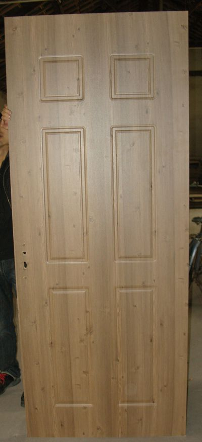 House wooden pvc door