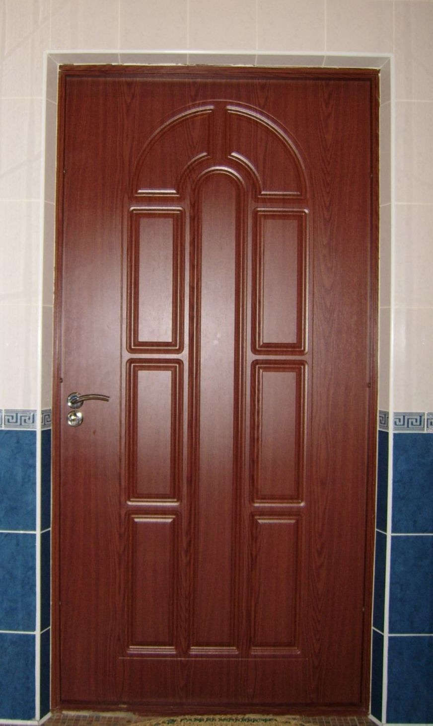MDF wooden door for bathroom