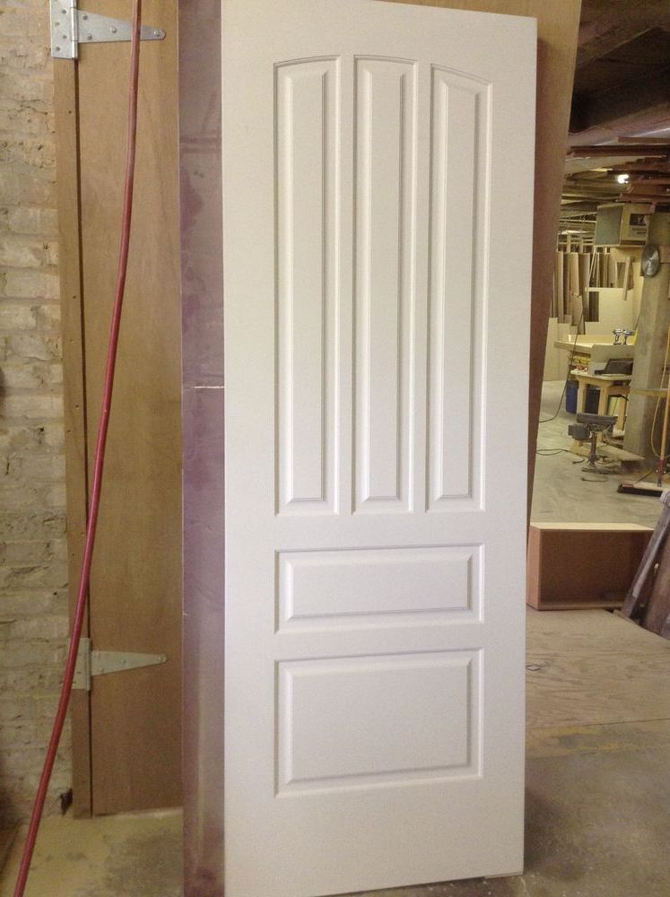 Solid Core White Masonite Doors