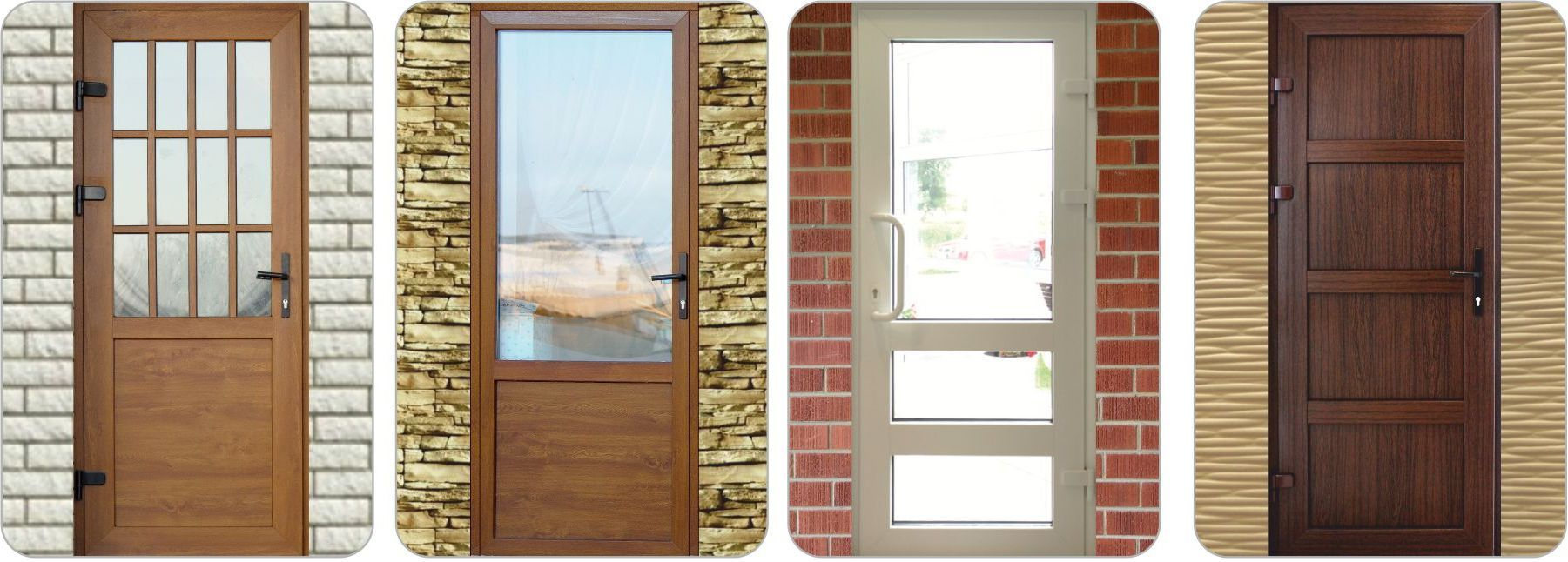 Various design PVC door