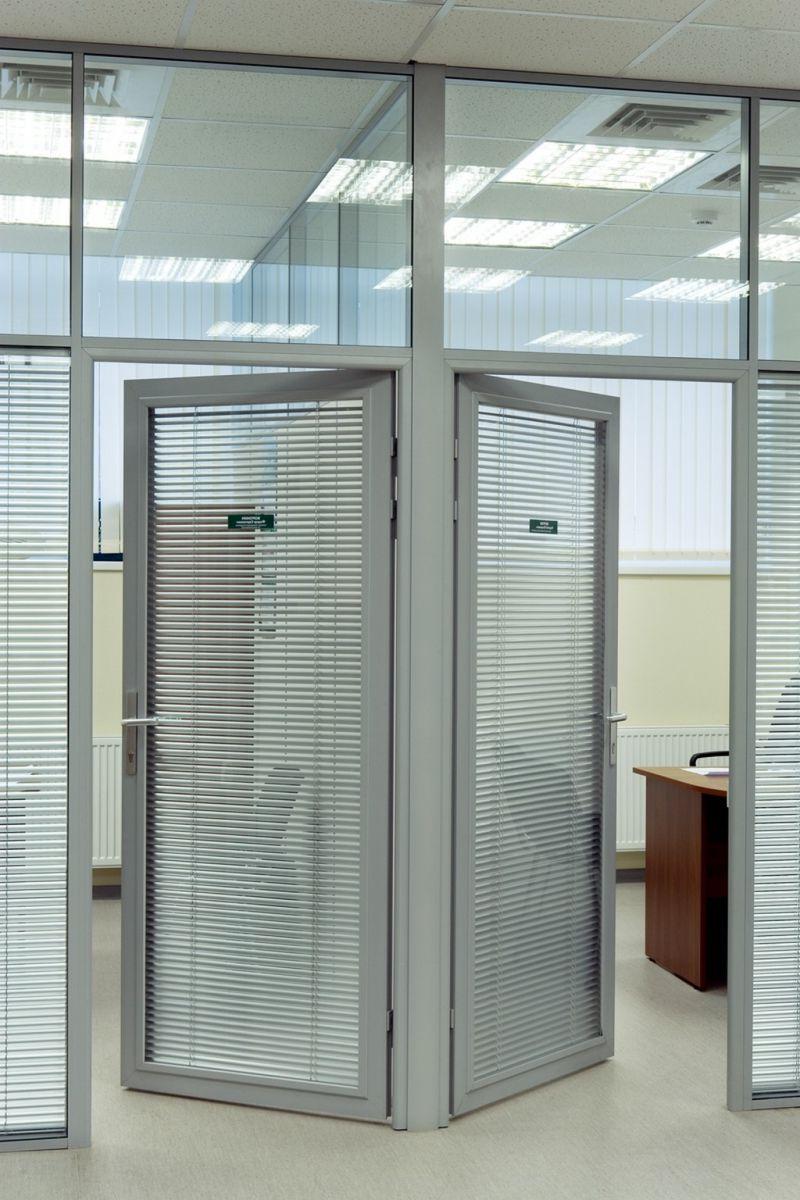 Aluminium doors office