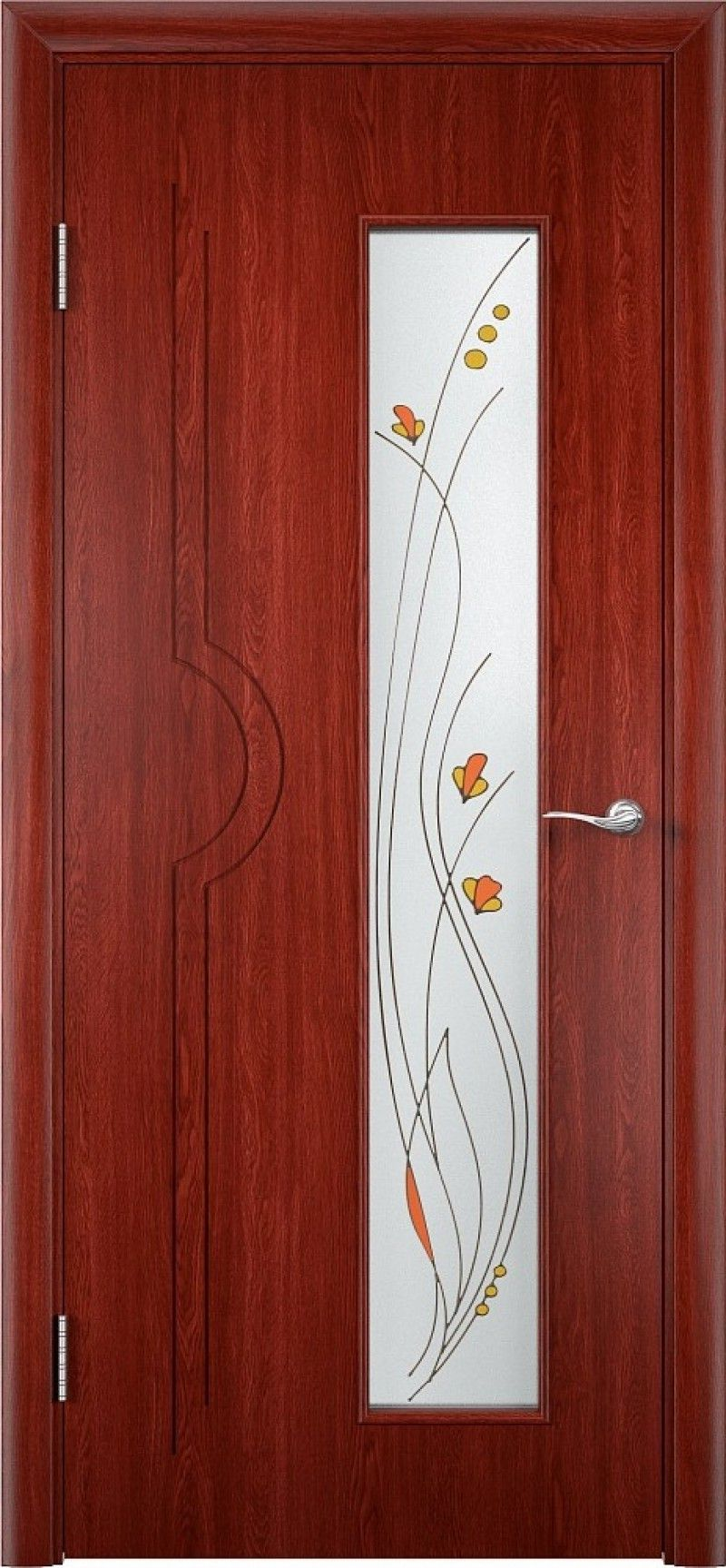 Beautiful modern door trim