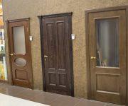 Classic wooden doors