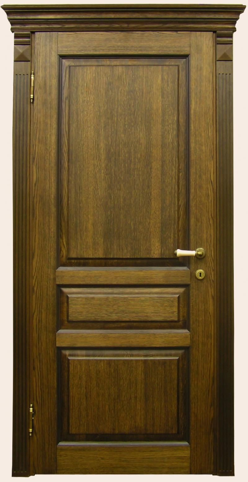 Doors of solid oak