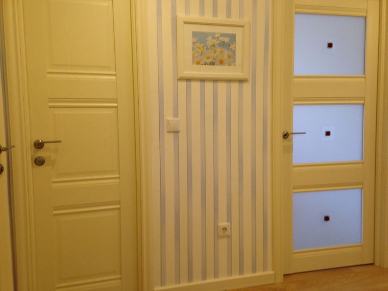Interior doors beige