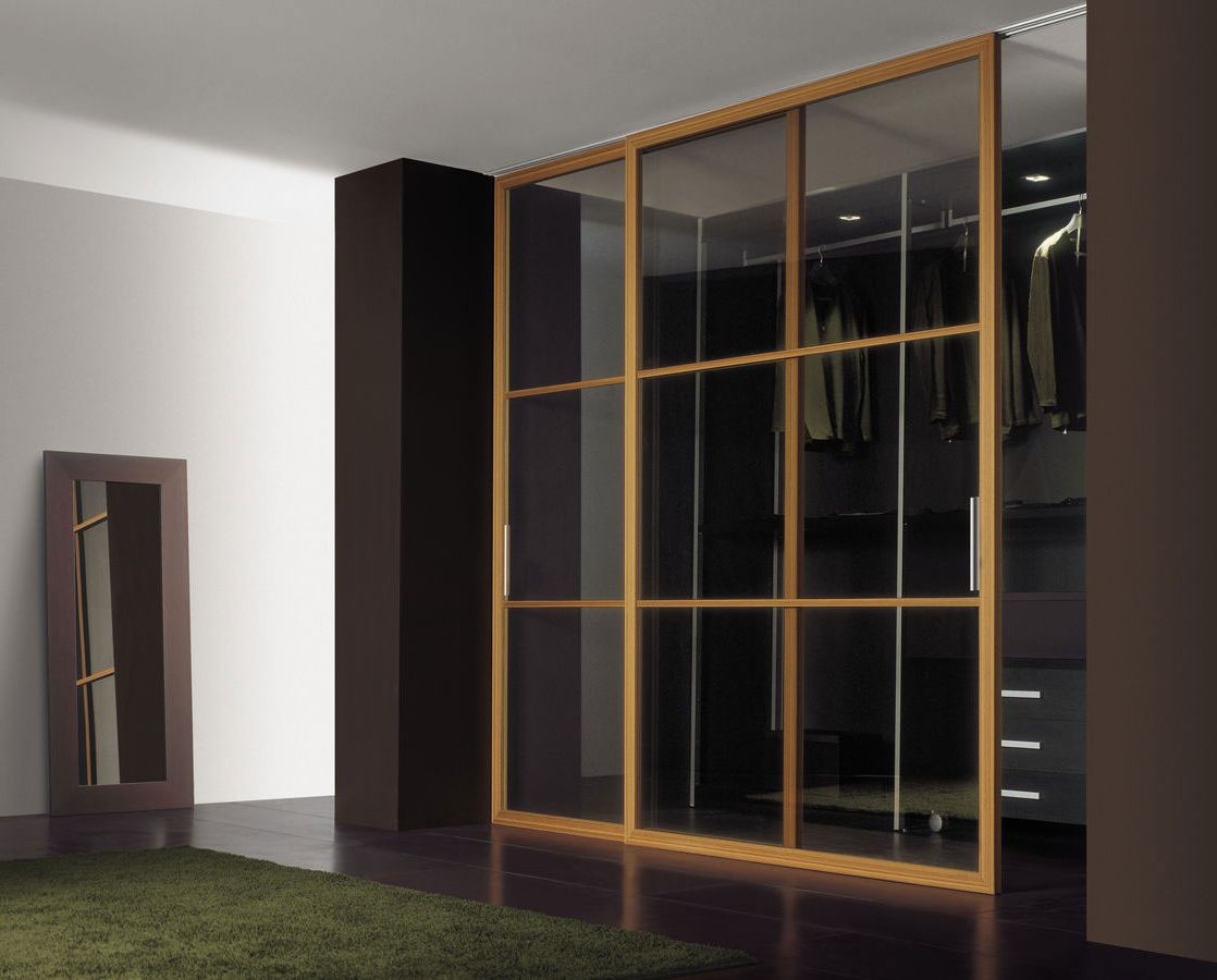 Modern rolling interior doors