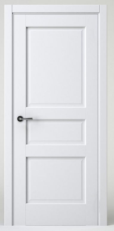 Modern White Interior Doors white interior doors in the hallway