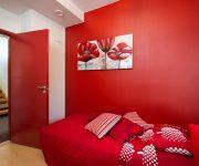 Red interior door