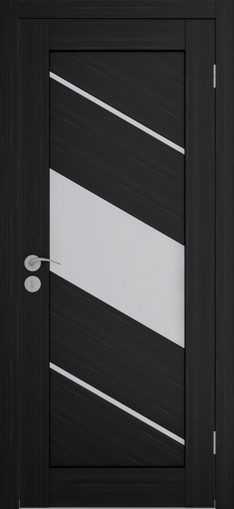Single-colored door in techno style