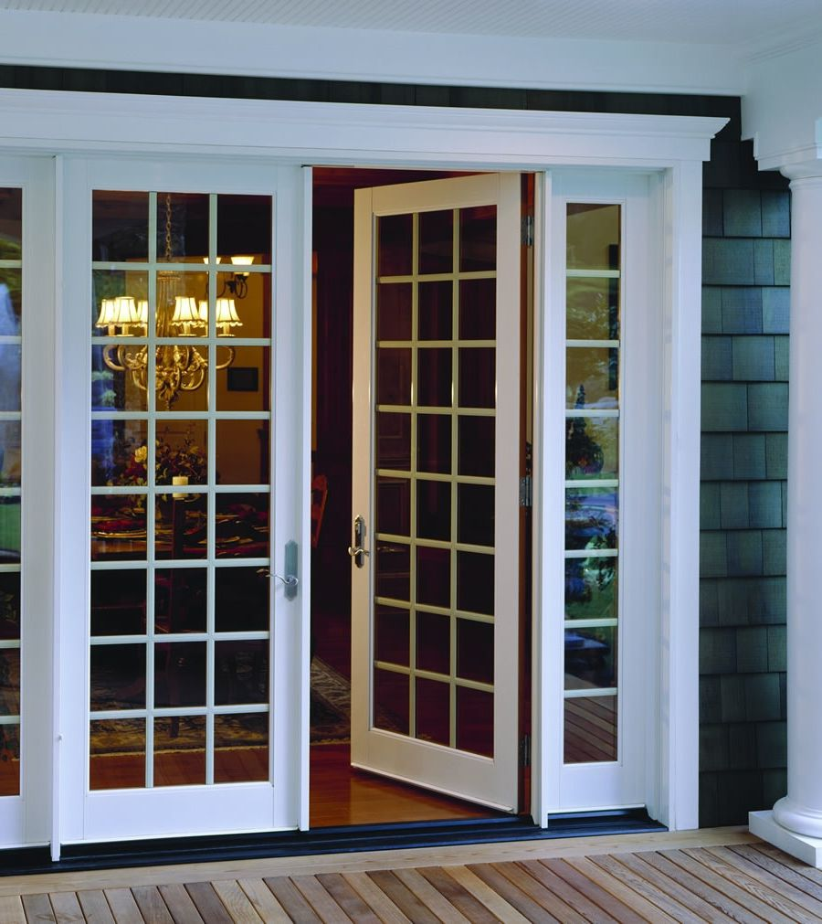 Swing patio doors