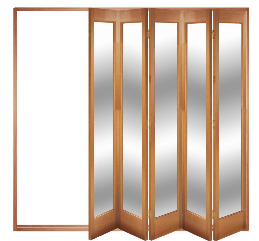 Tri sliding closet doors tri fold doors interior for Folding sliding doors home depot