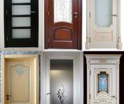 Various styles of wooden doors pictures