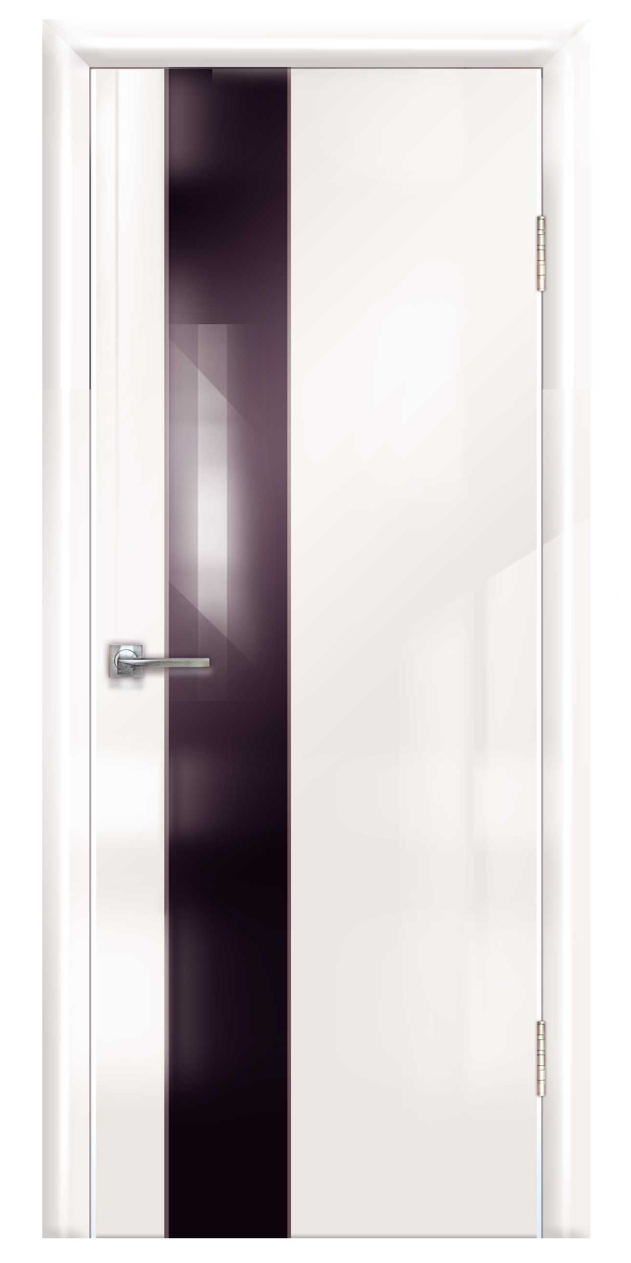 White door in a modern techno style