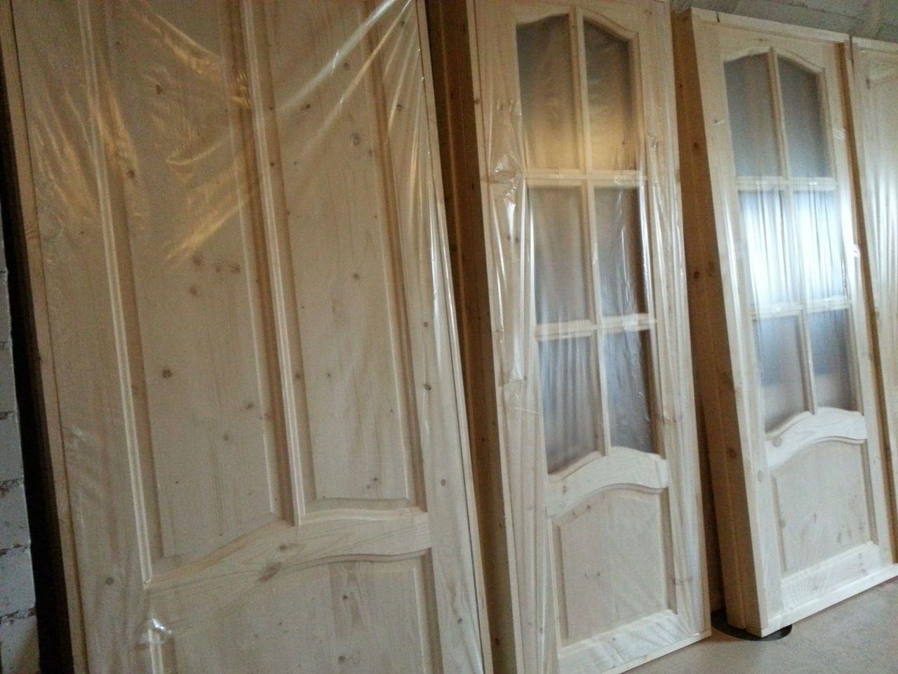 Wooden interior doors in stock