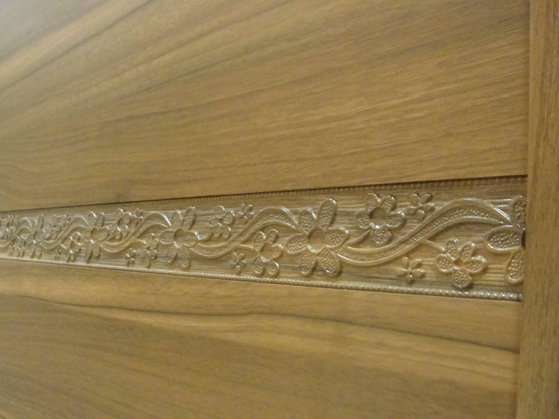 Carving PVC Veneer MDF Doors