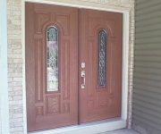 Fiberglass masonite entry door