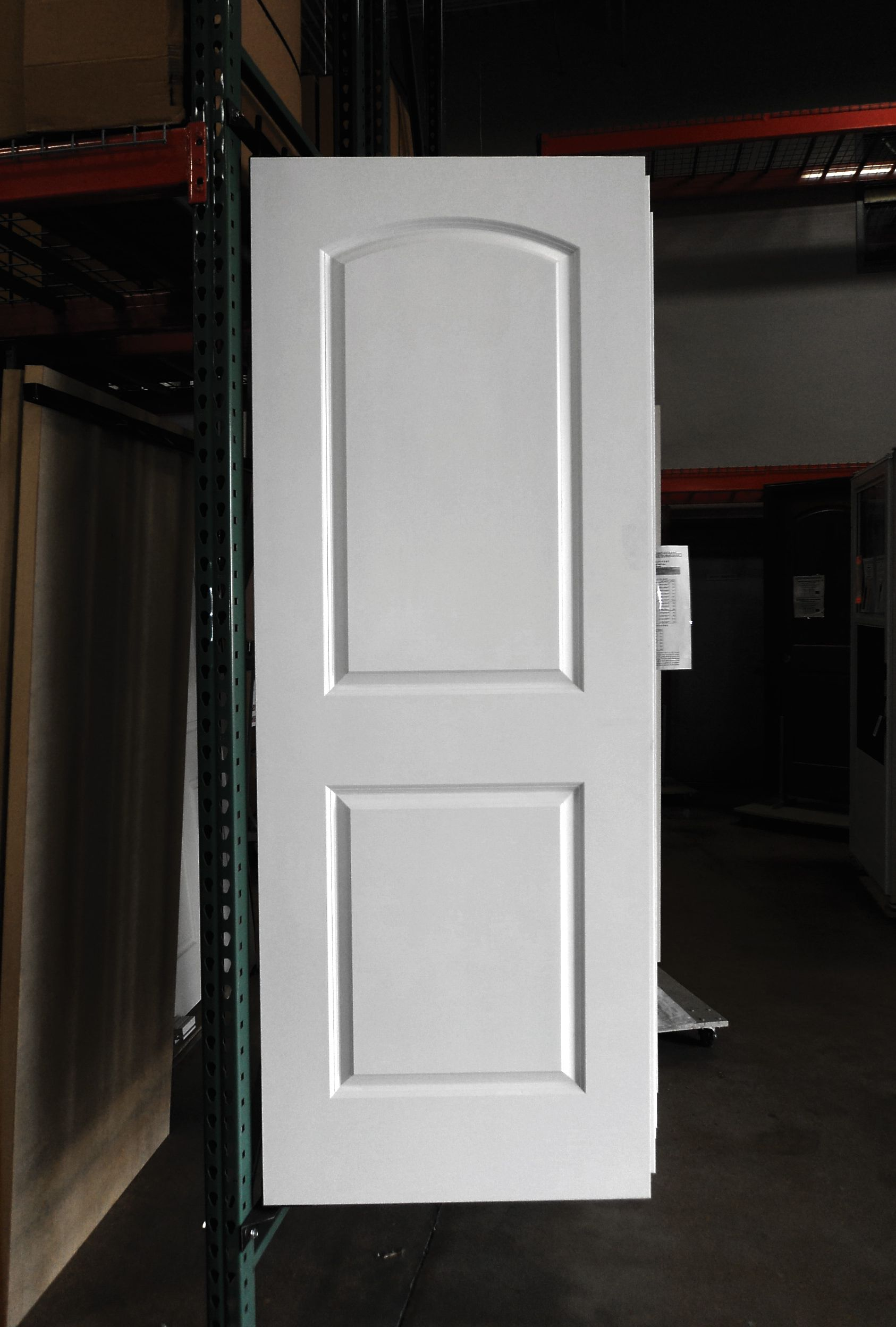 White Masonite Door