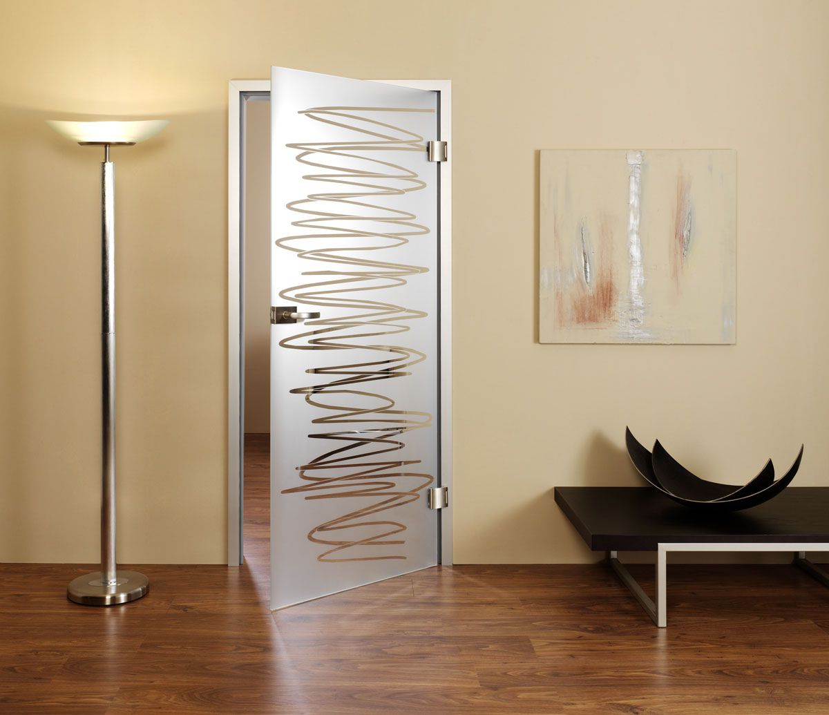 Frosted interior glass door with elegant design white frosted interior glass door with elegant design planetlyrics Choice Image