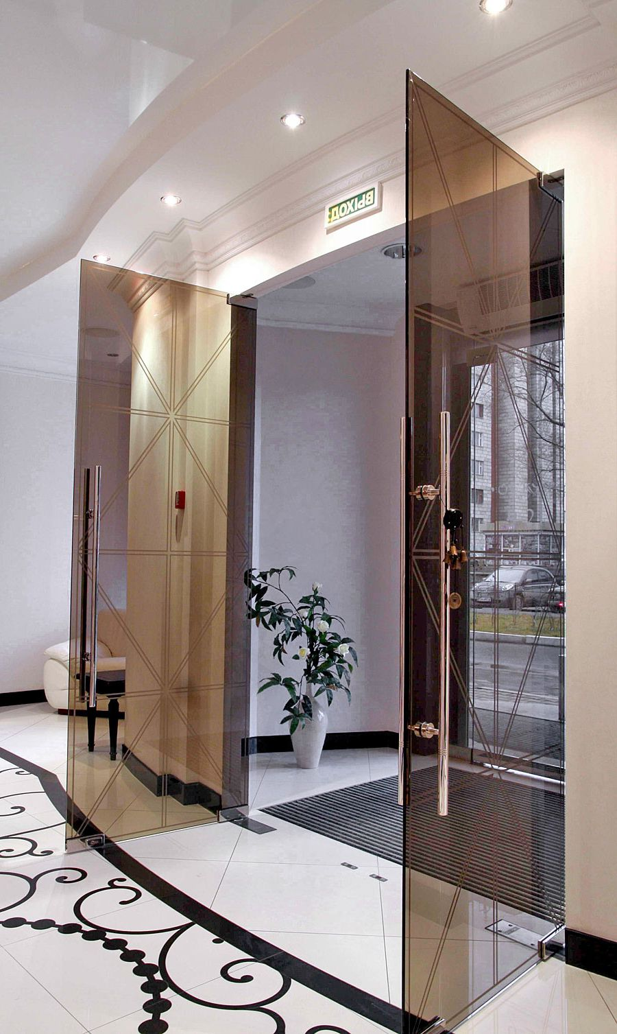 Best double hinged glass doors