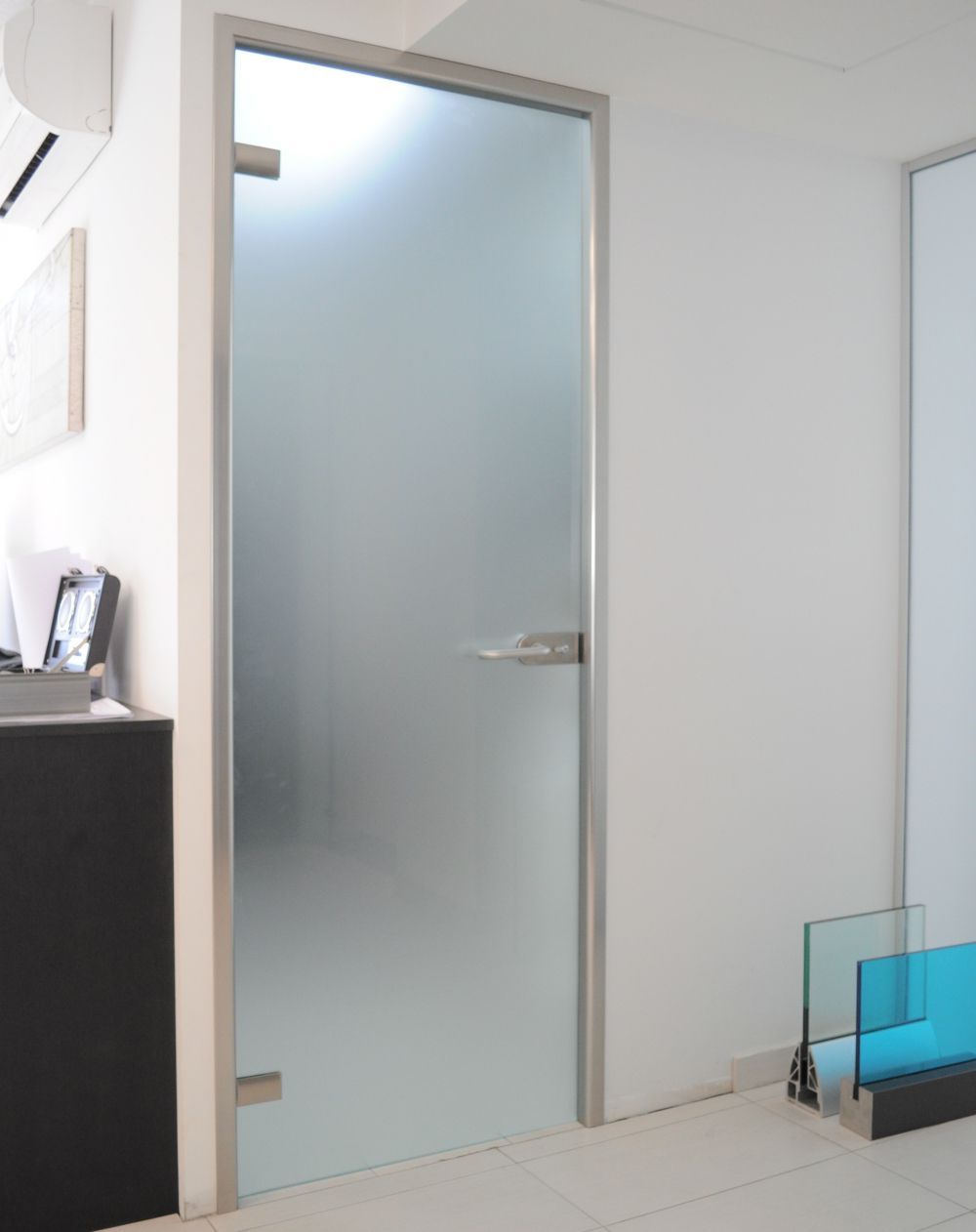Perfect Frosted Glass Interior Doors