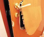 Masonite door construction