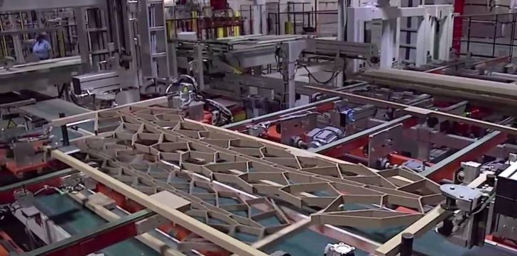 masonite doors Production technology