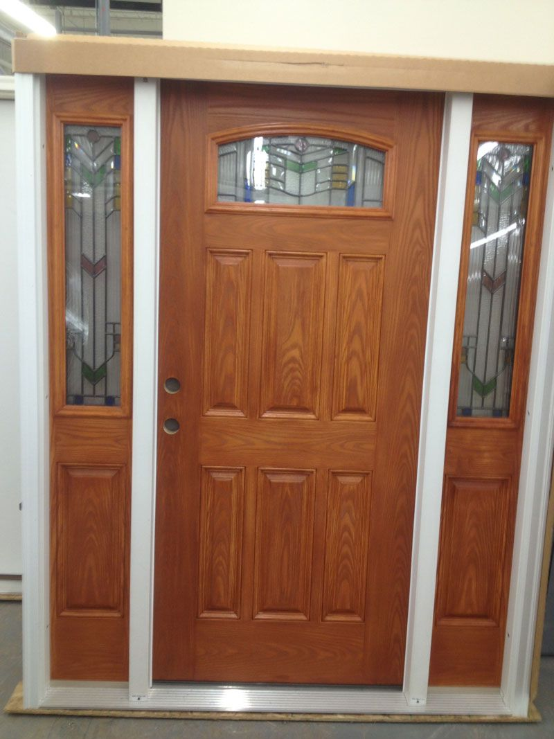 Masonite door masonite 36 in x 80 in everland cianne 3 for Exterior entry doors