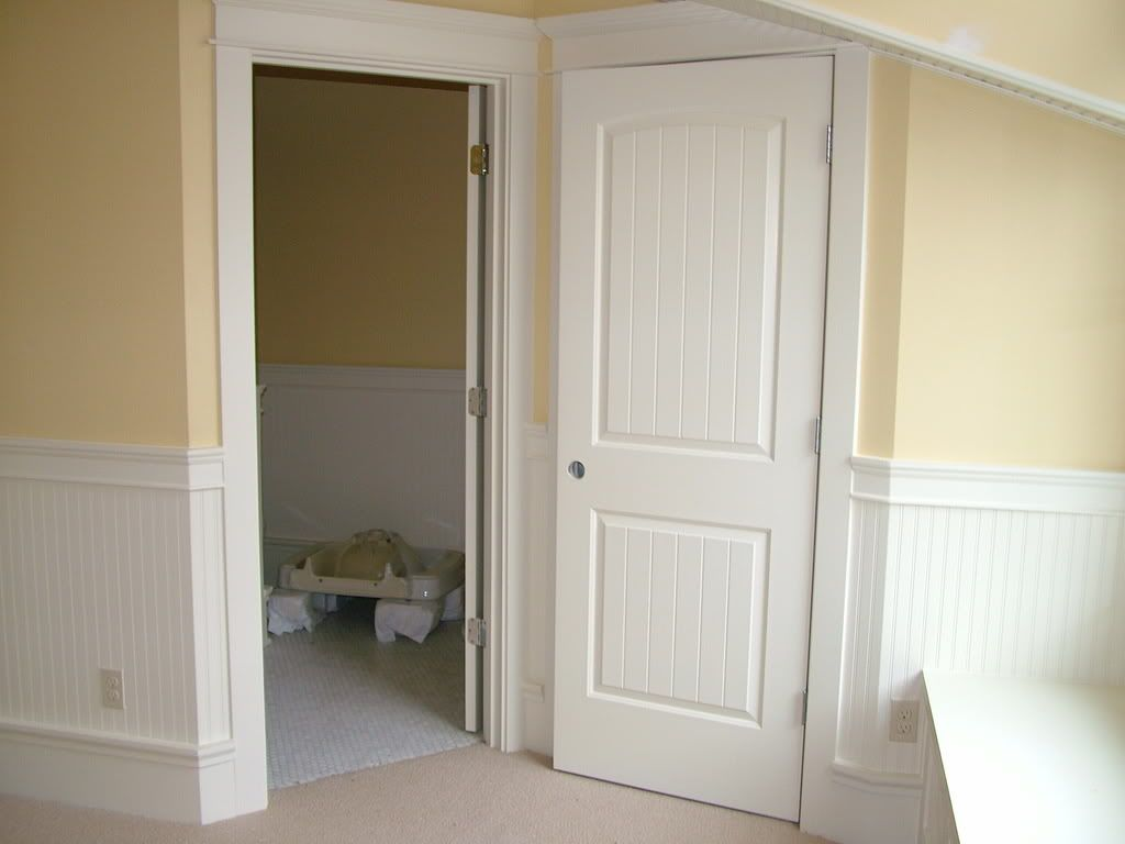 Masonite doors for bathroom and toilet