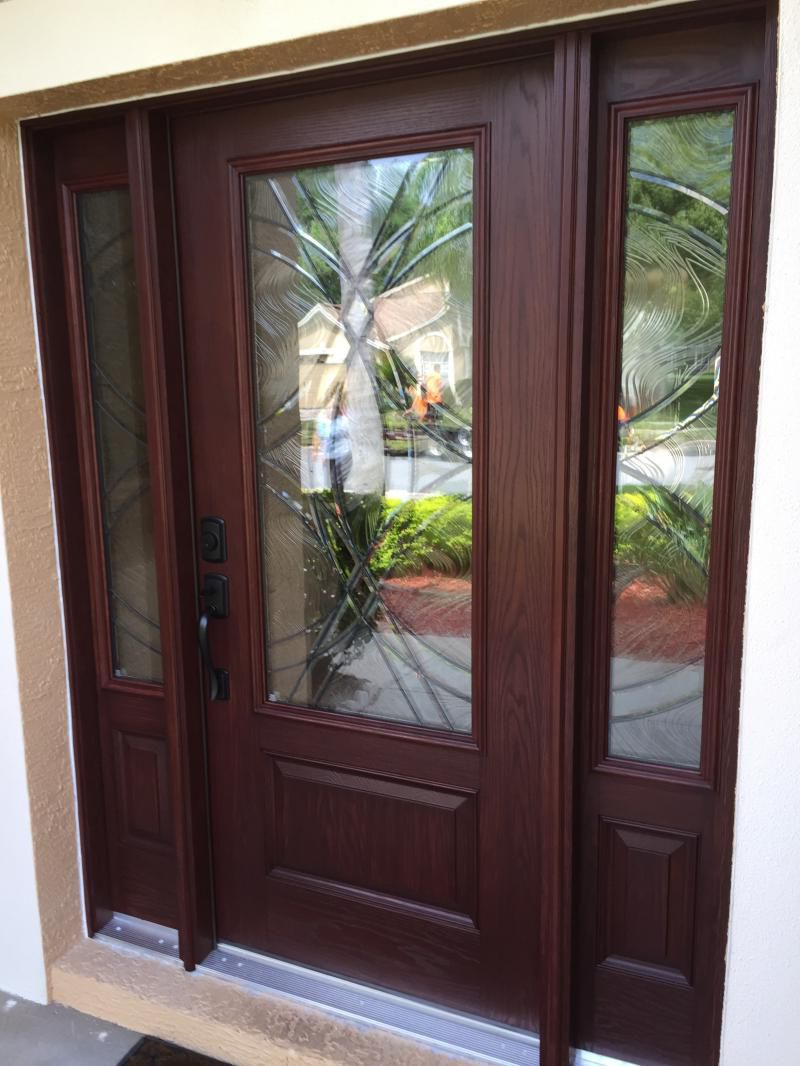 Masonite fiberglass door