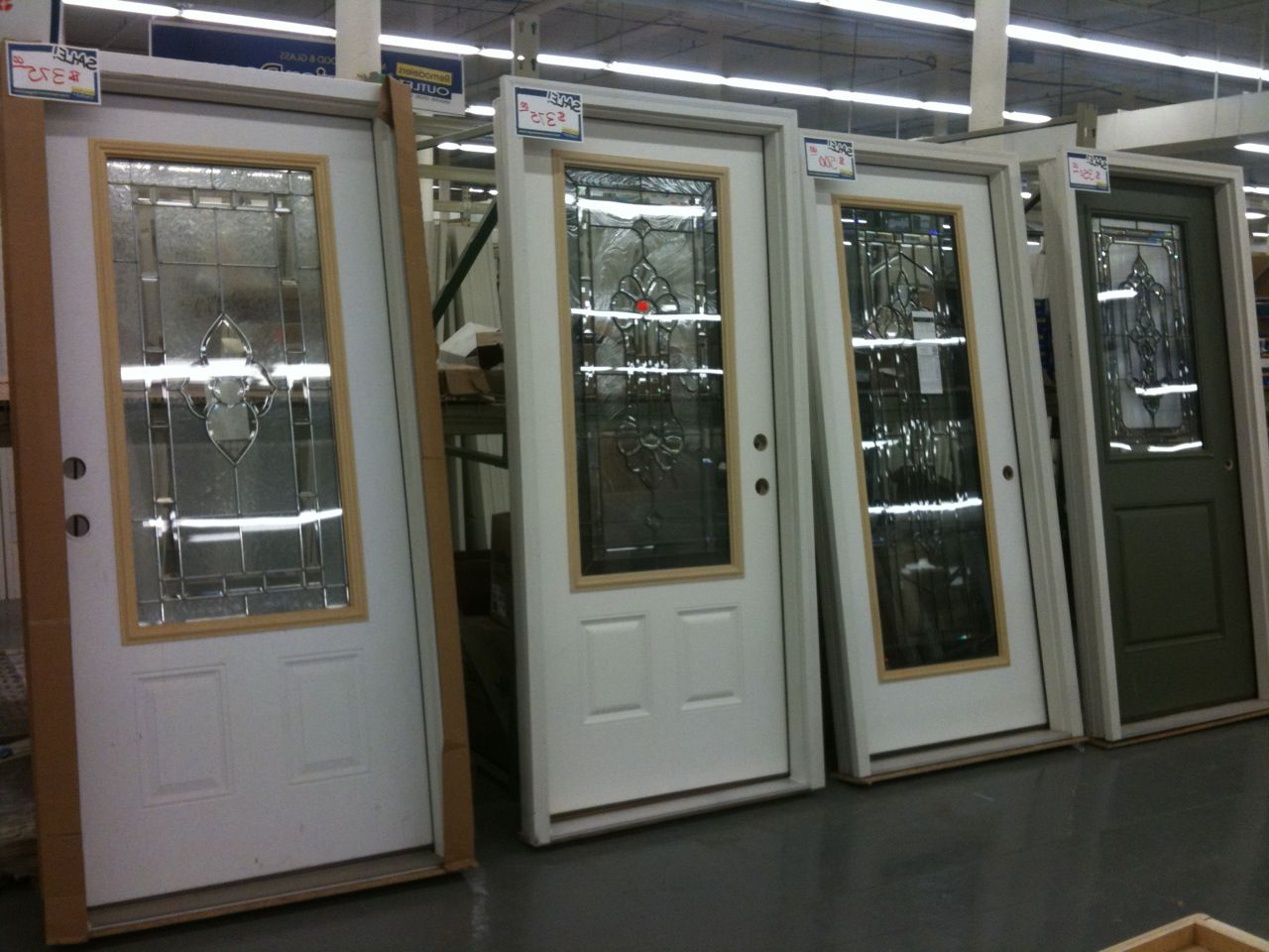 Masonite fiberglass doors – price 350-500 dollars