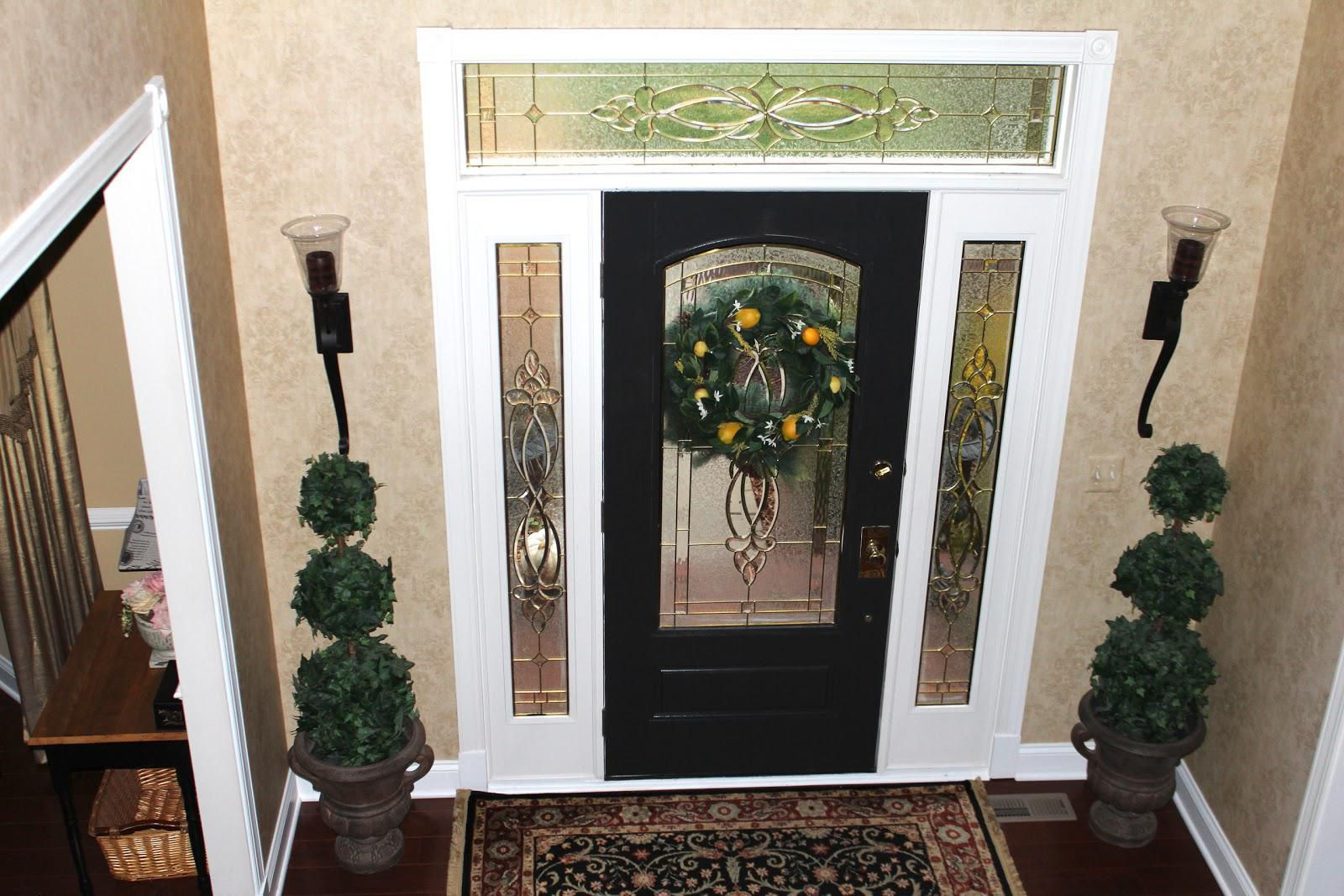 Masonite front door with glass