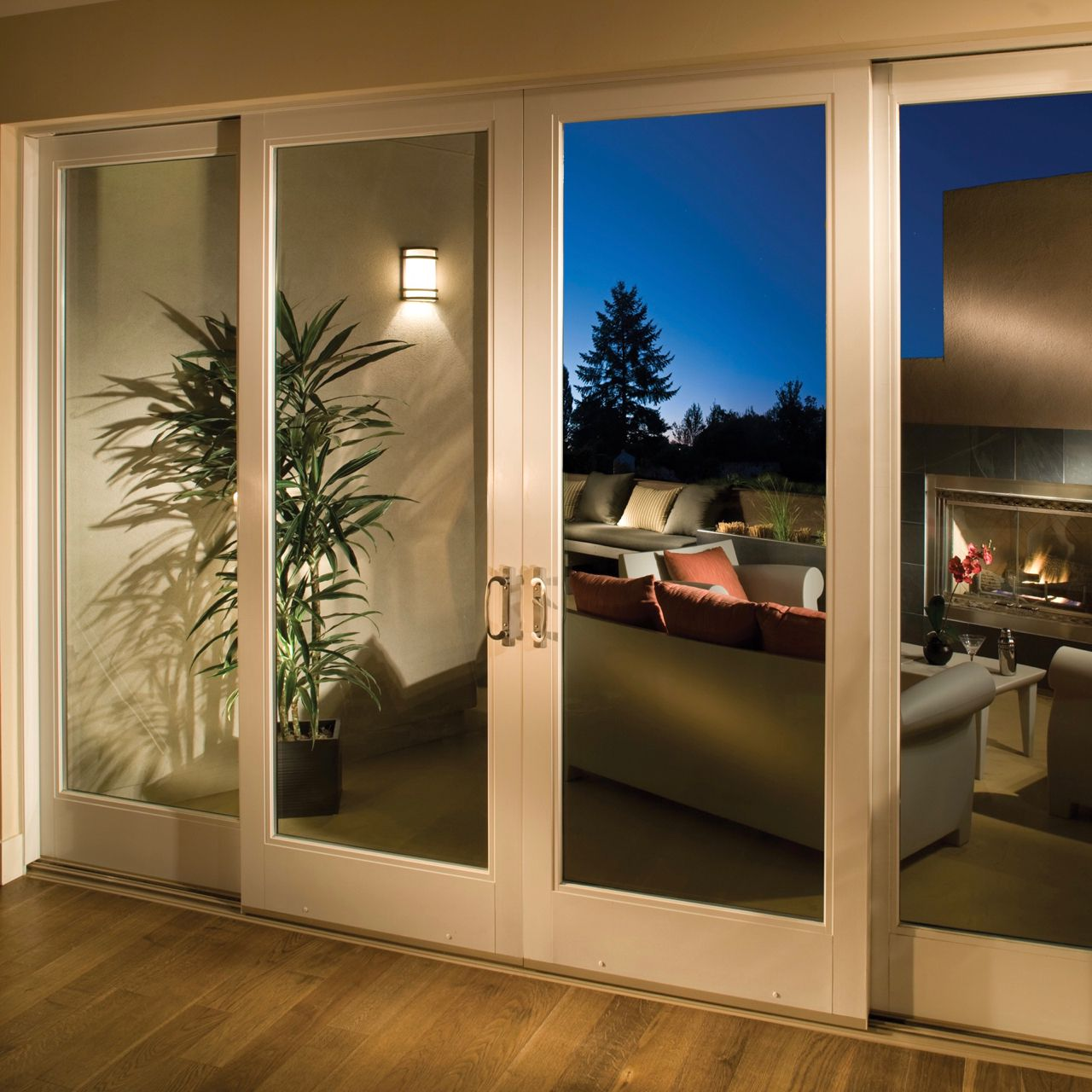 Masonite patio door