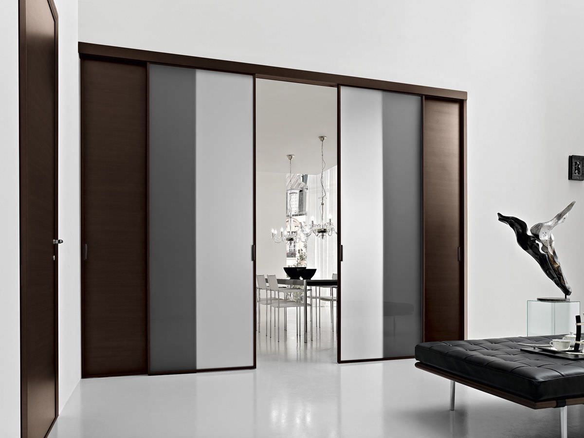 Modern interior pvc sliding door
