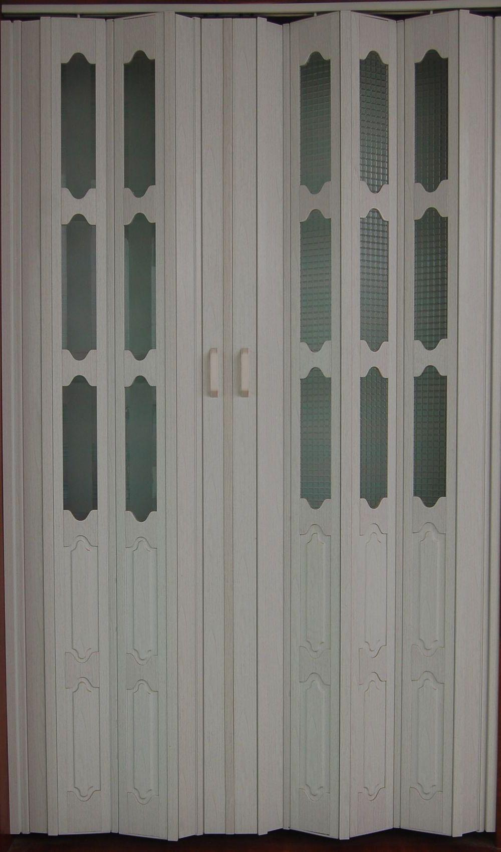 Plastic Sliding Folding Doors Interior