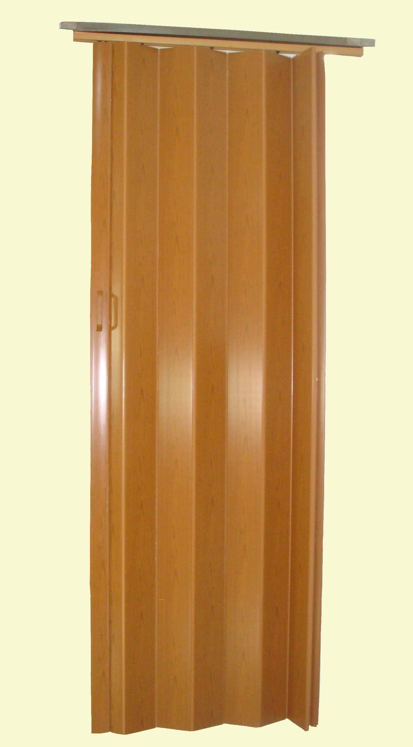 White plastic folding doors for Accordion doors