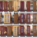Plastic interior doors