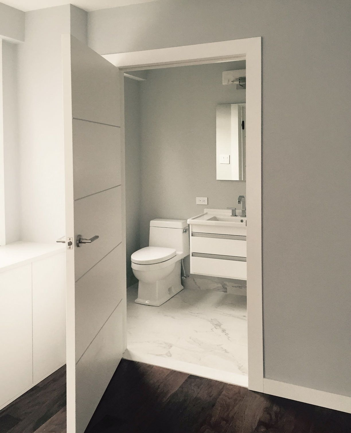Pvc interior doors for bathroom and toilet