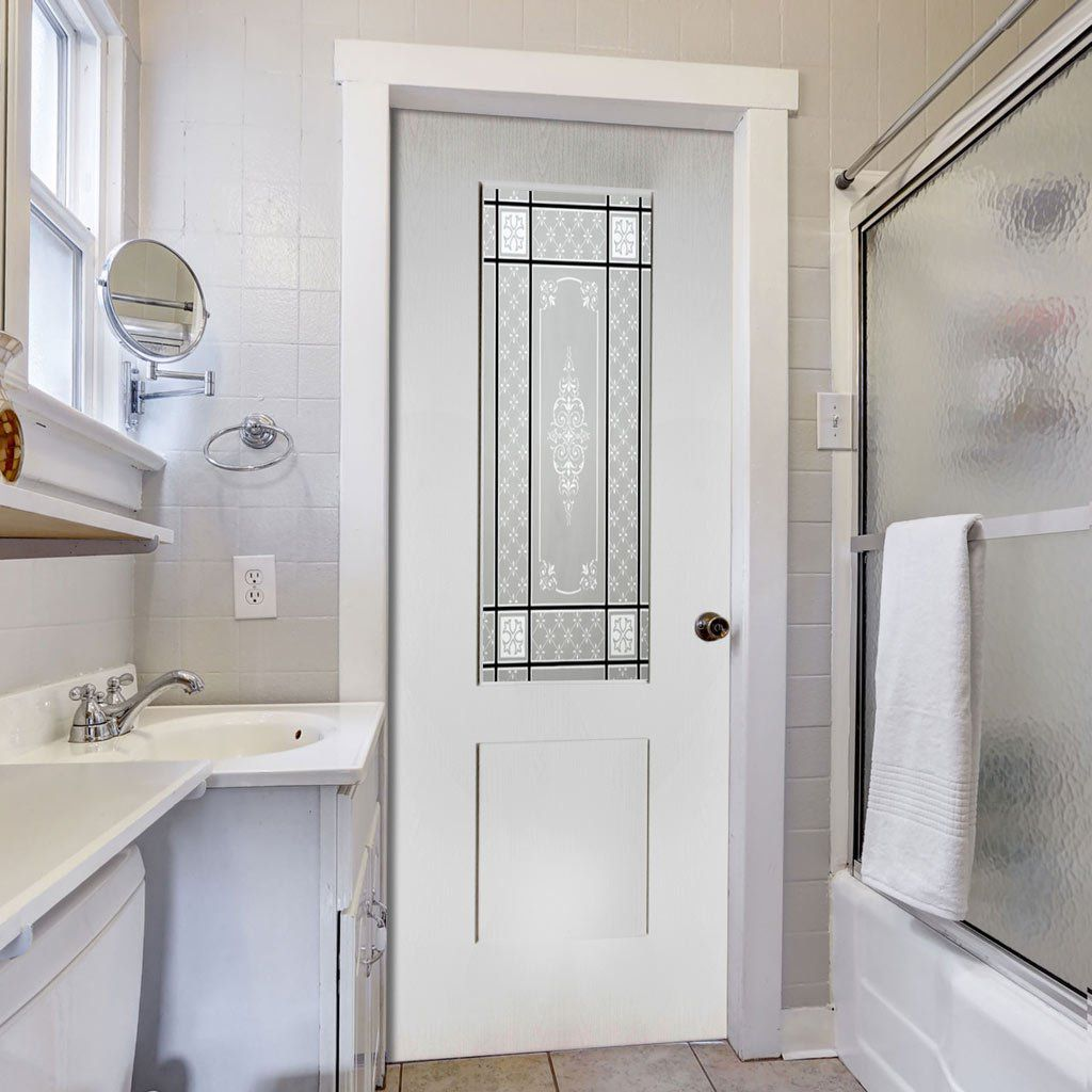 white bathroom door vinyl folding doors pvc 15063
