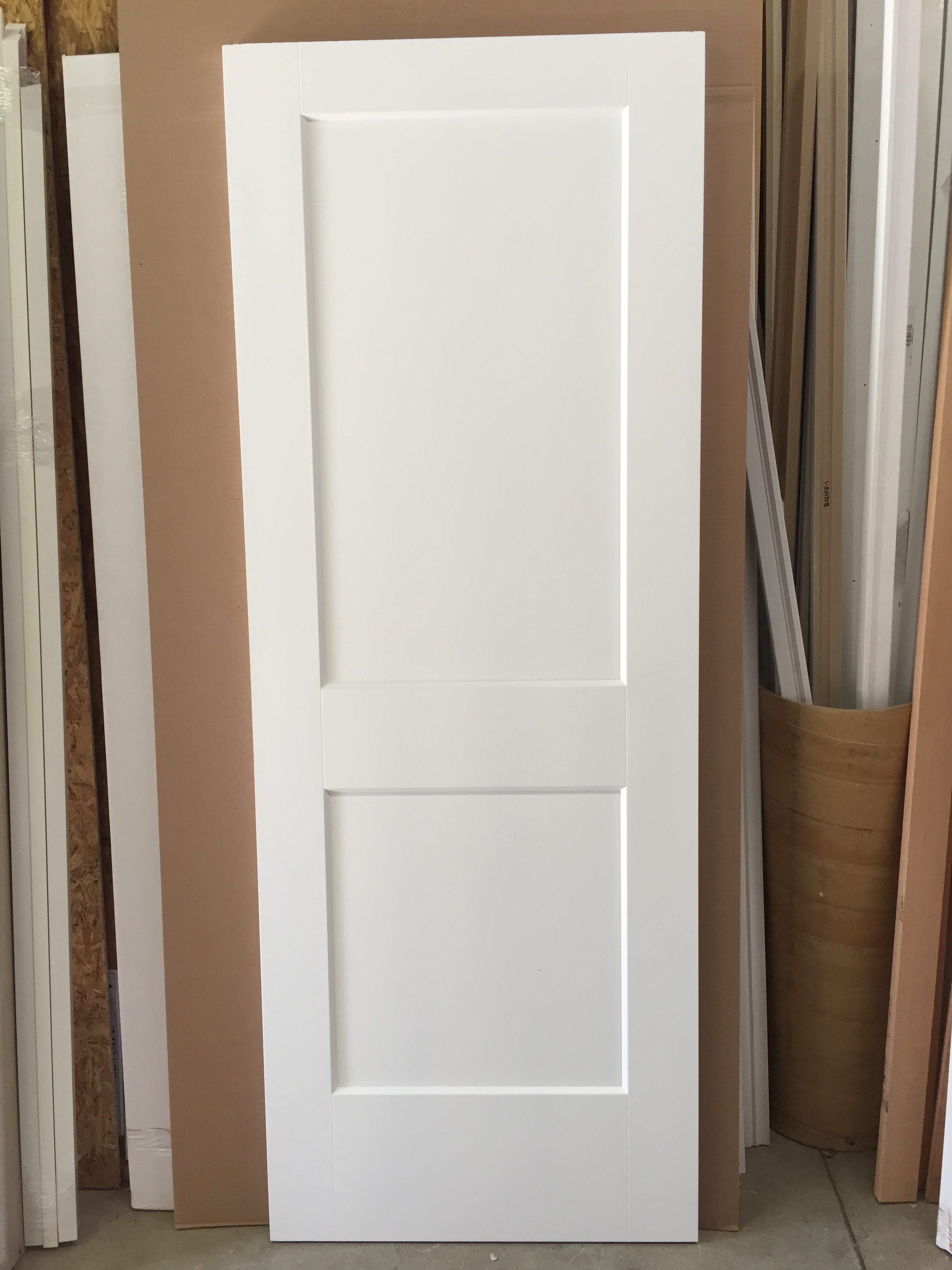 White masonite door swing before installing