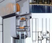 Aluminium Bi-Fold Doors patio design construction