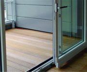 Aluminium sliding interior doors