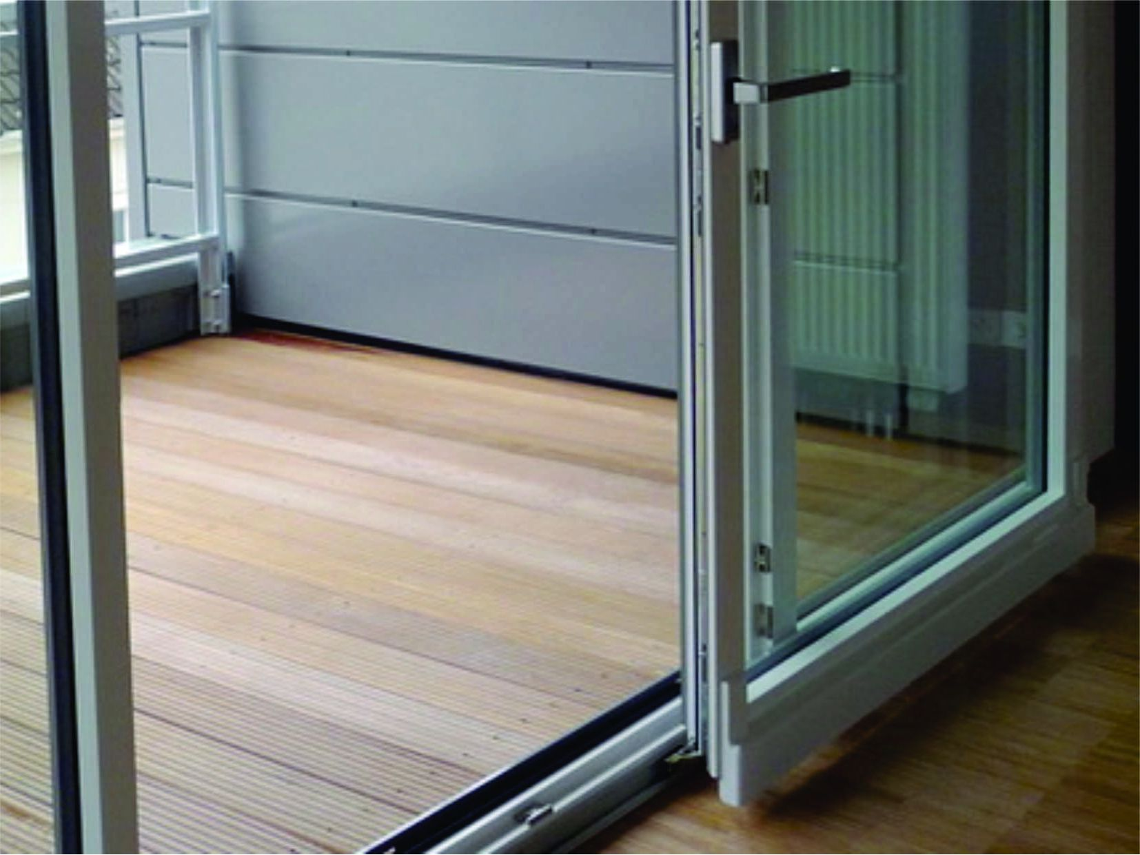 Aluminium sliding interior doors