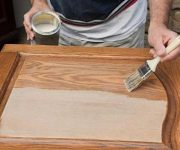 Chemicals for aging wood at home